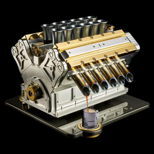 Espresso Veloce Aurum 18CT V12