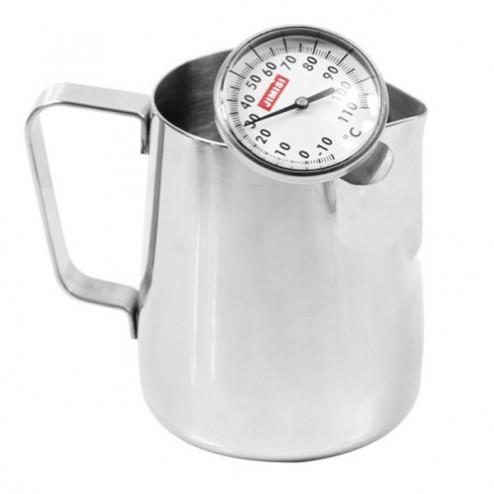 Caffè Italia Milk Pitcher + Milk Thermometer