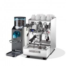 Expobar Brewtus IV Leva Multi Kedel Vibrationspumpe & Rancilio Rocky SD