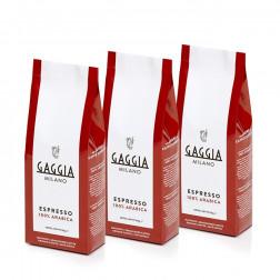 Gaggia Malet kaffe 3x250Gr