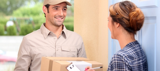 Deliveries Directly In Front Of Your Door